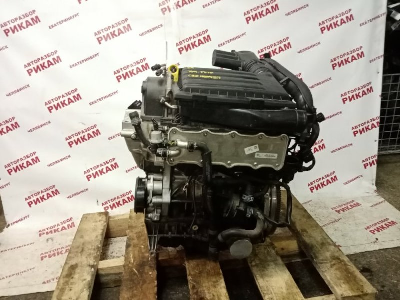 Двигатель Skoda Octavia A7 5E5 CZDA 2015