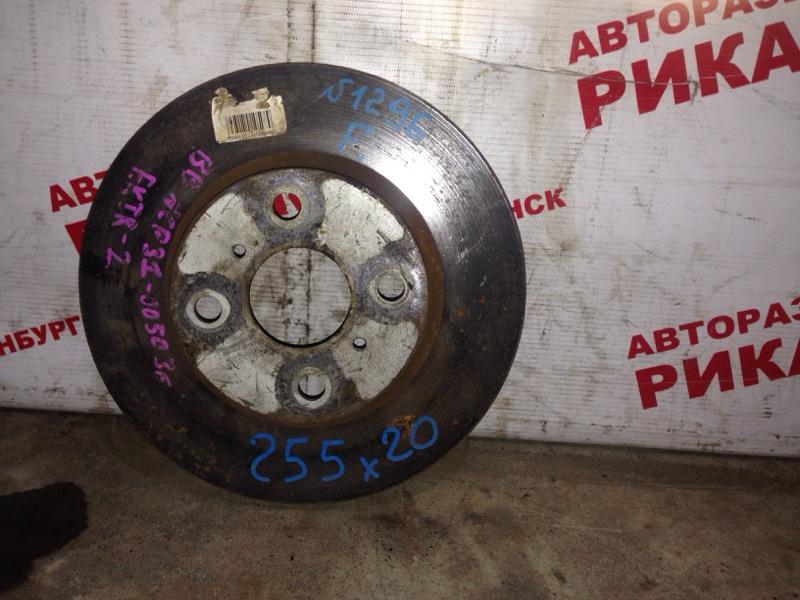 Диск тормозной Toyota Bb NCP31 передний