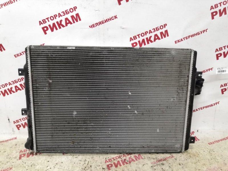 Радиатор охлаждения Skoda Superb 3T CFGB 2011