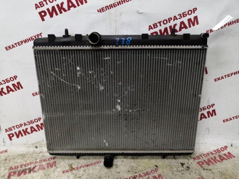 Радиатор охлаждения Peugeot 308 4A 10FJBJ 2011