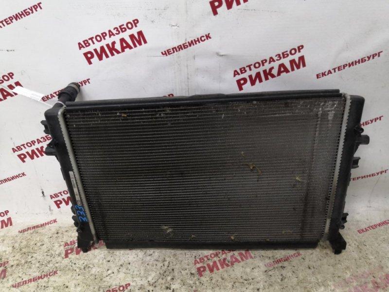 Радиатор охлаждения Skoda Octavia A5 1Z5 CAX 2012