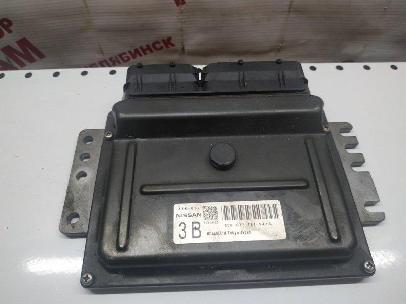 Блок управления Nissan Cube BZ11 CR14DE