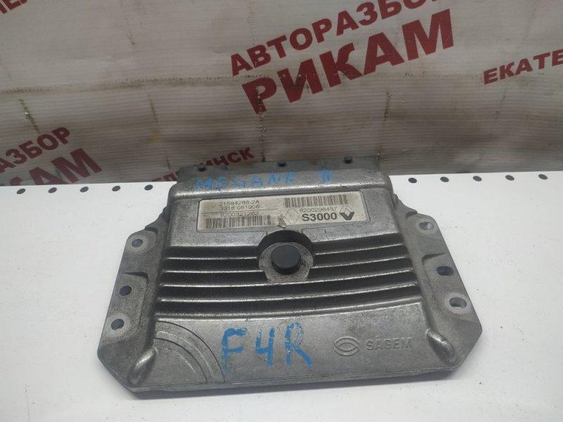 Блок управления Renault Megane LM F4R