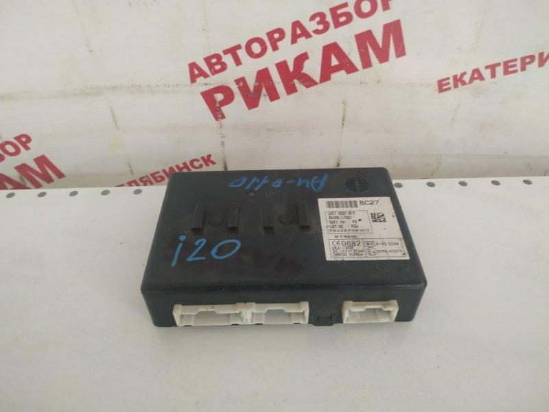 Блок управления Hyundai I20 G4FC 2010