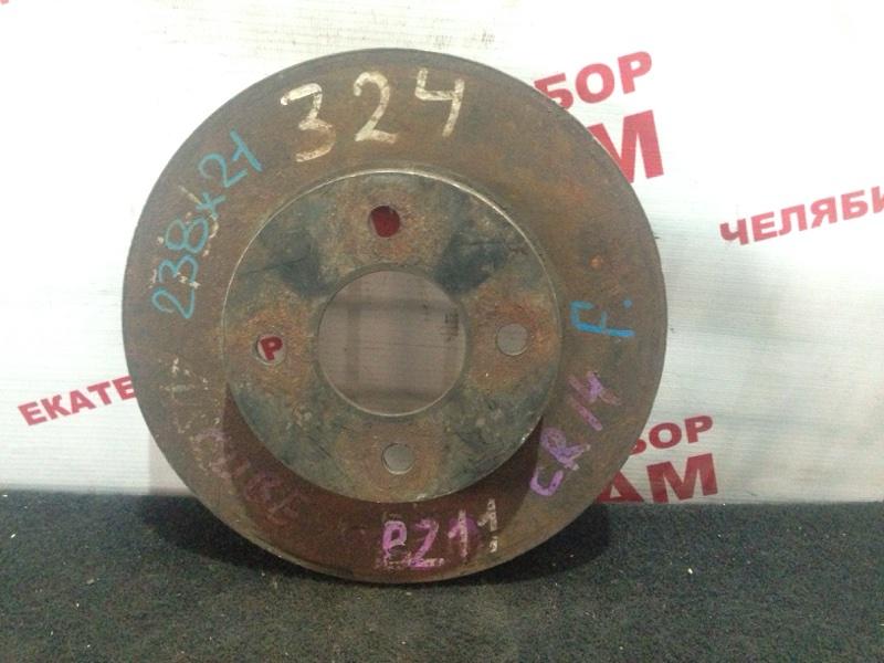 Диск тормозной Nissan Cube BZ11 CR14DE передний