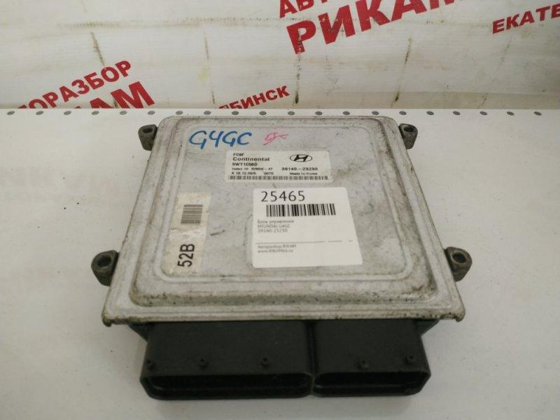 Блок управления Hyundai I30 FD G4GC
