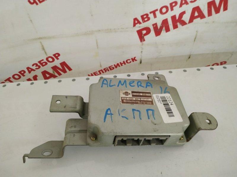 Блок управления Nissan Almera N16 QG18DE