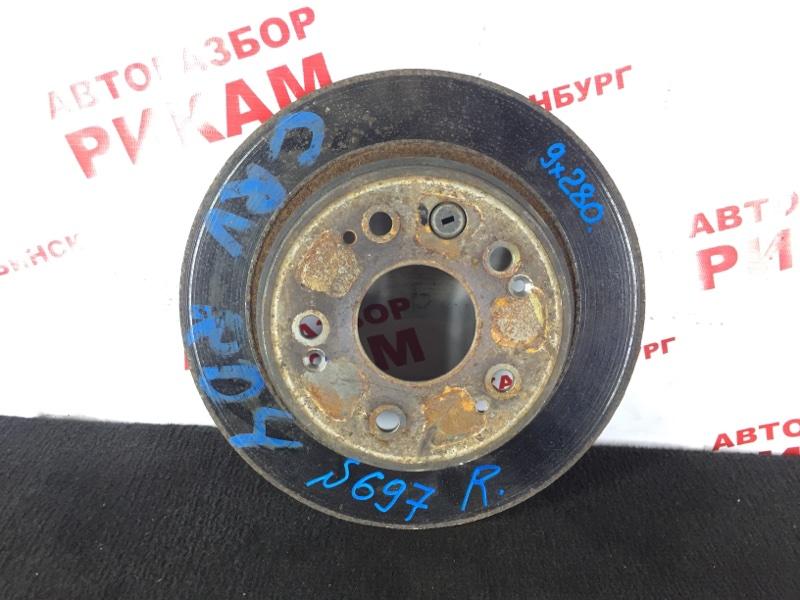 Диск тормозной Honda Cr-V RD4 задний