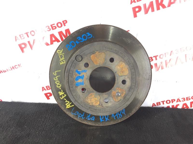 Диск тормозной Chevrolet Captiva C100 10HMC 2008 задний