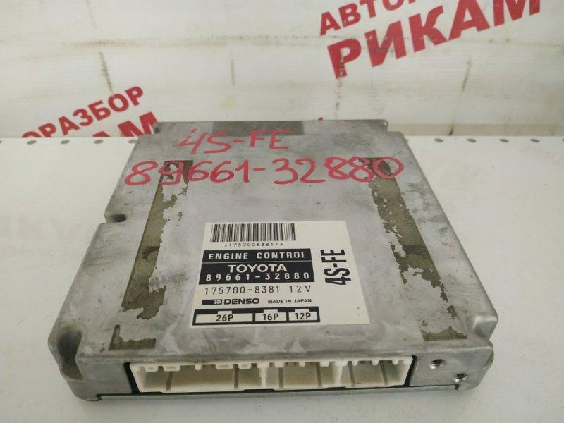 Блок управления Toyota Vista SV40 4S-FE