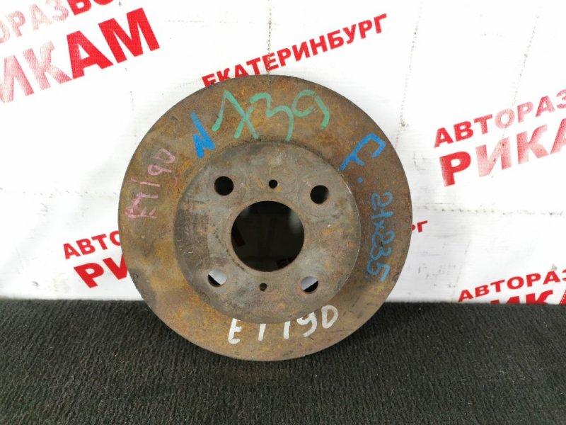 Диск тормозной Toyota Caldina ET190 передний