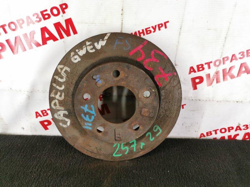 Диск тормозной Mazda Capella GWEW FS передний