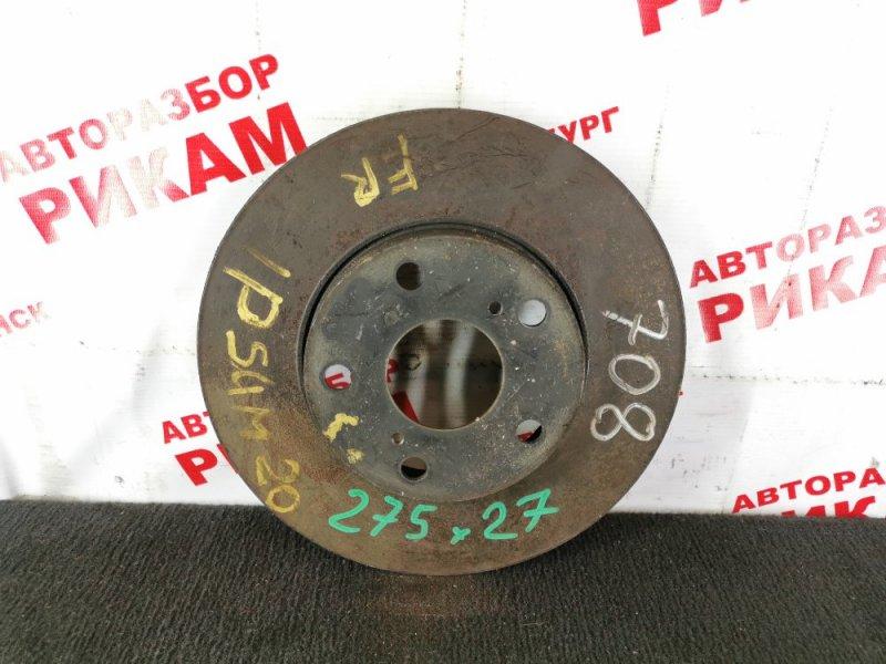 Диск тормозной Toyota Ipsum ACM20 передний
