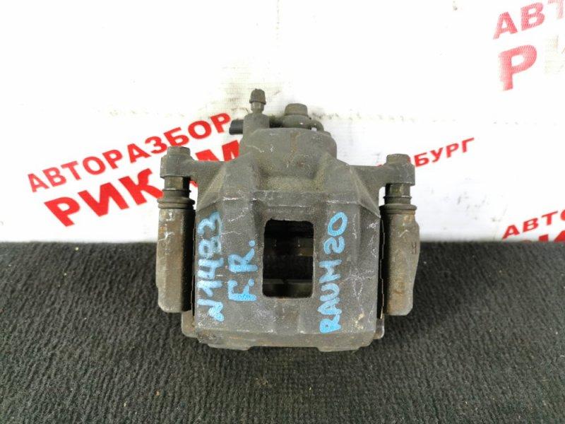 Суппорт тормозной Toyota Raum NCZ20 передний правый