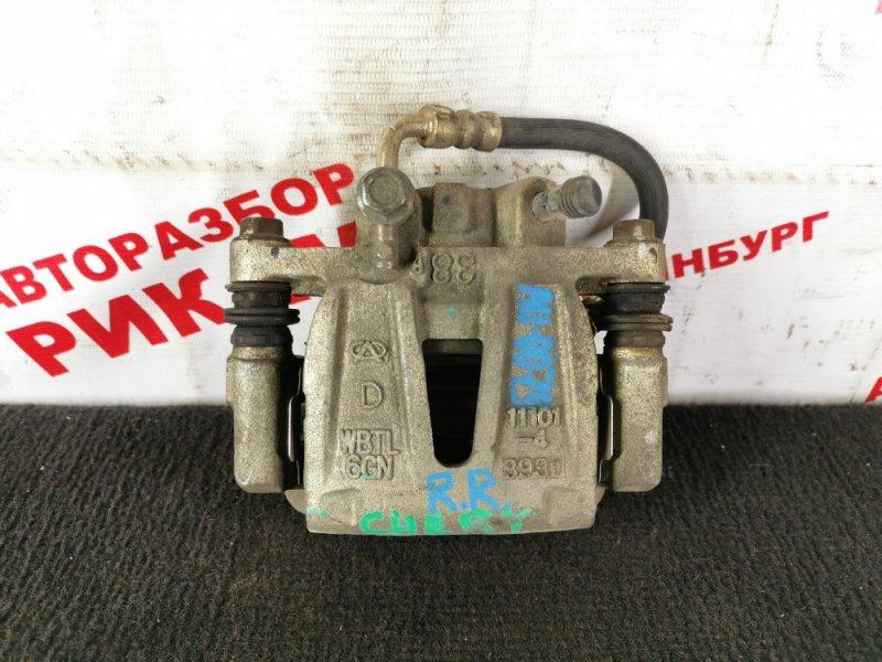 Суппорт тормозной Chery M11 DB SQRE4G16 2013 задний правый