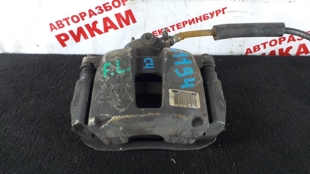 Суппорт тормозной Citroen C4 передний левый