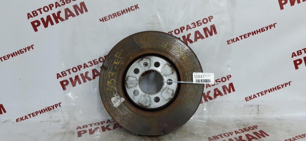 Диск тормозной Skoda Rapid NH1 CAX 2014 передний