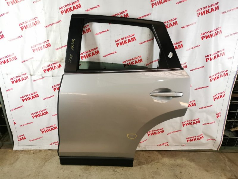Дверь Mazda Cx-5 KF2W PE-VPS 2017 задняя левая