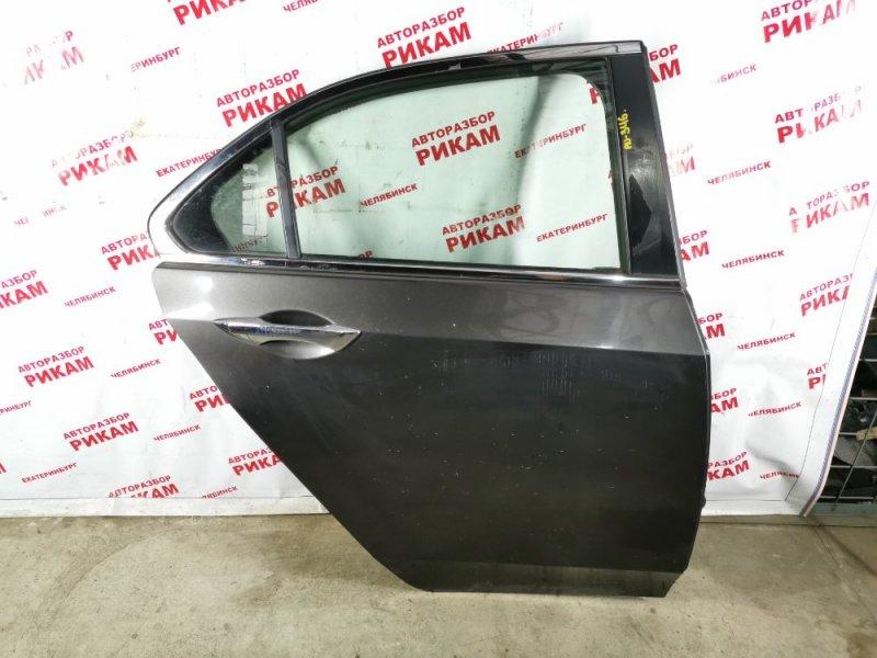 Дверь Honda Accord CU2 K24Z3 2009 задняя правая
