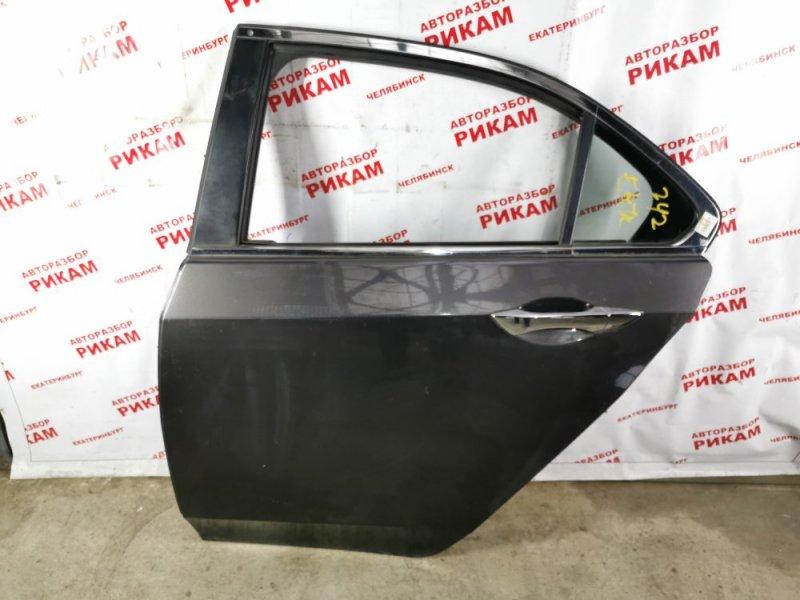 Дверь Honda Accord CU2 K24Z3 2011 задняя левая