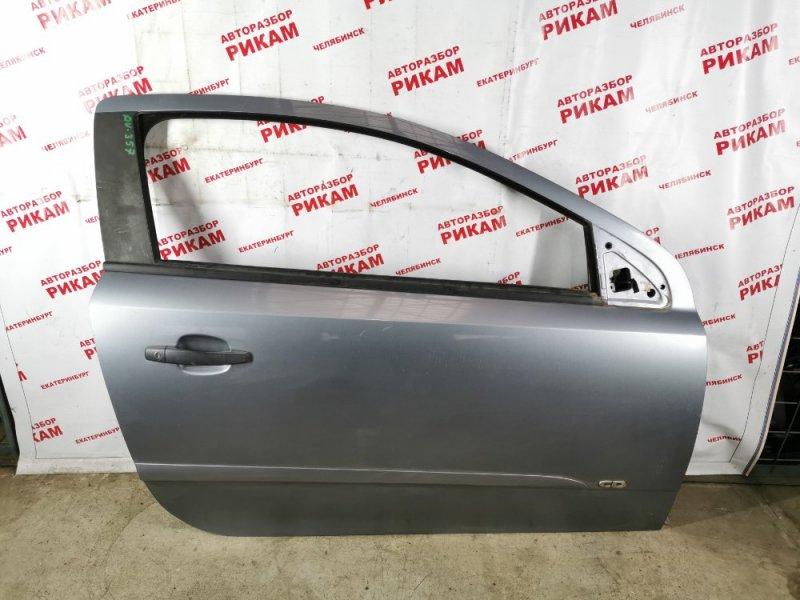 Дверь Opel Astra H Z18XE 2005 передняя правая