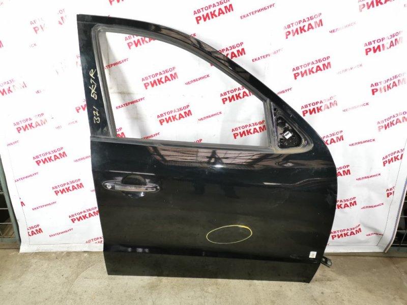 Дверь Hyundai Santa Fe CM D4HB 2011 передняя правая