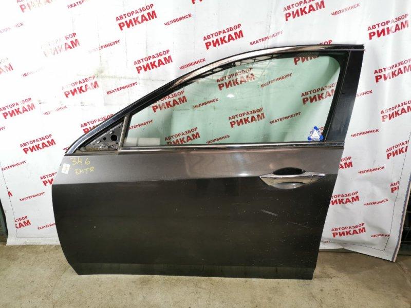 Дверь Honda Accord CU2 K24Z3 2009 передняя левая