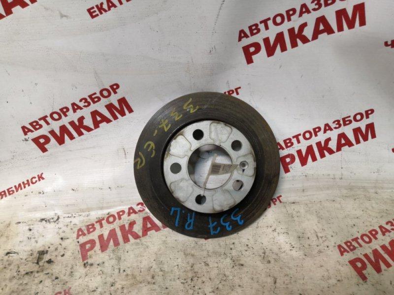 Диск тормозной Skoda Rapid NH1 CAX 2014 задний