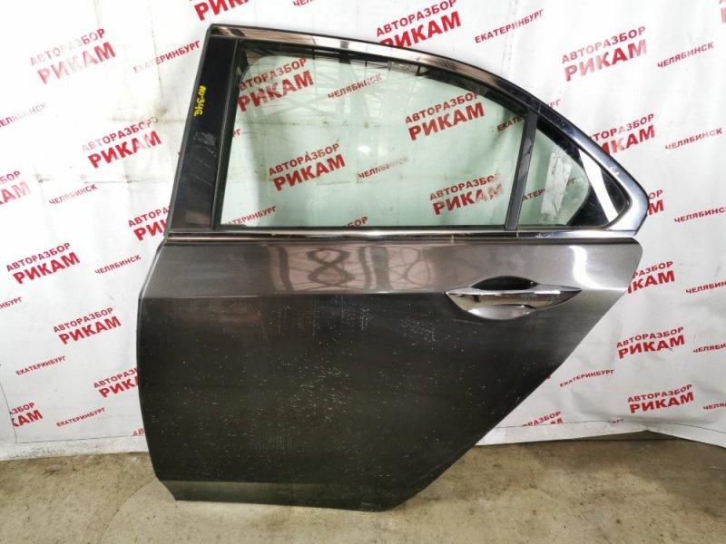 Дверь Honda Accord CU2 K24Z3 2009 задняя левая