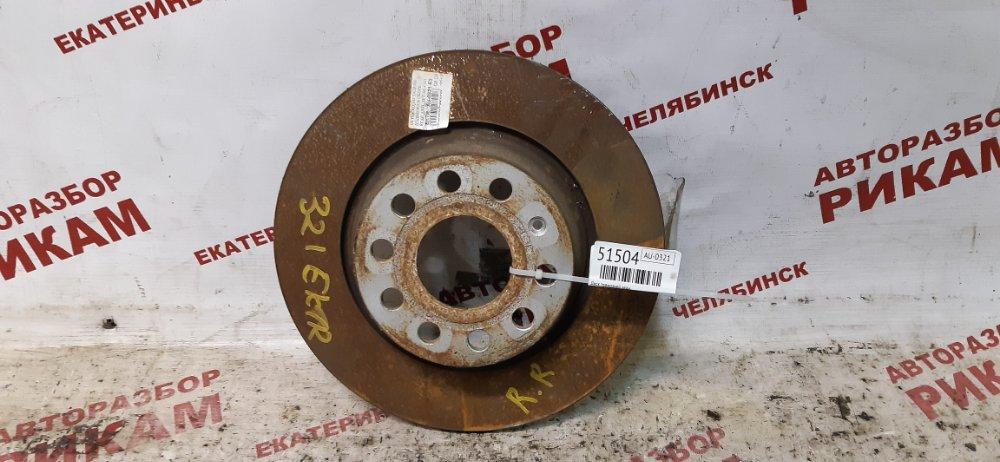 Диск тормозной Skoda Superb 3T CFGB 2011 задний
