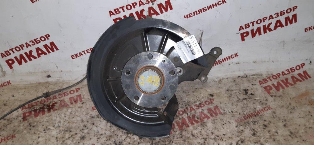 Ступица Skoda Octavia A5 1Z5 CAX 2012 задняя левая