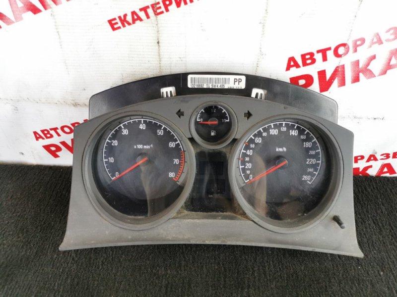 Панель приборов Opel Astra H Z18XE 2005