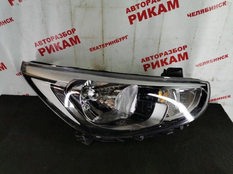 Фара Hyundai Solaris RB G4FD 2019 передняя правая