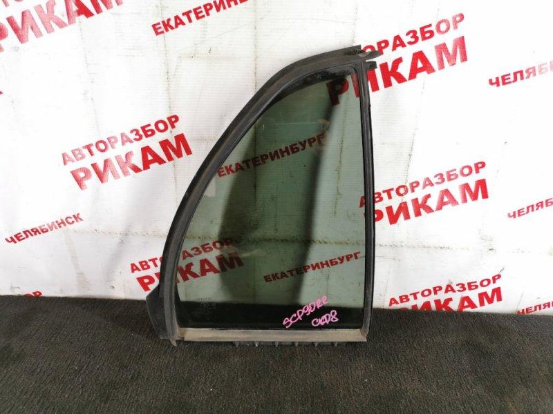 Стекло кузова боковое Toyota Vitz SCP90 заднее правое