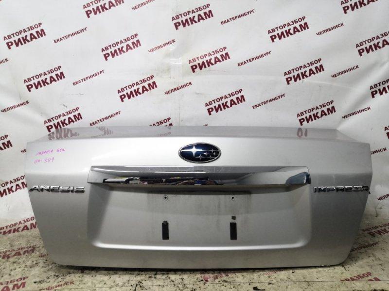Крышка багажника Subaru Impreza GE2 EL15 2010 задняя