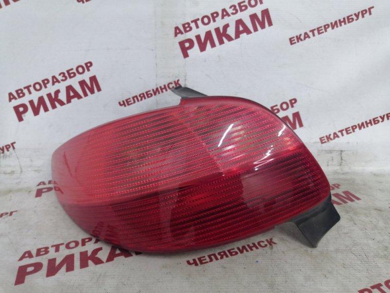 Стоп-сигнал Peugeot 206 2A/C NFU 2003 задний левый