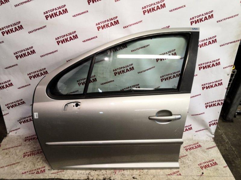 Дверь Peugeot 207 WC 5FW 2007 передняя левая