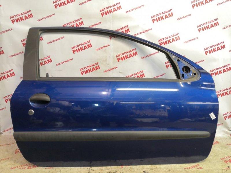 Дверь Peugeot 206 2A/C NFU 2003 передняя правая