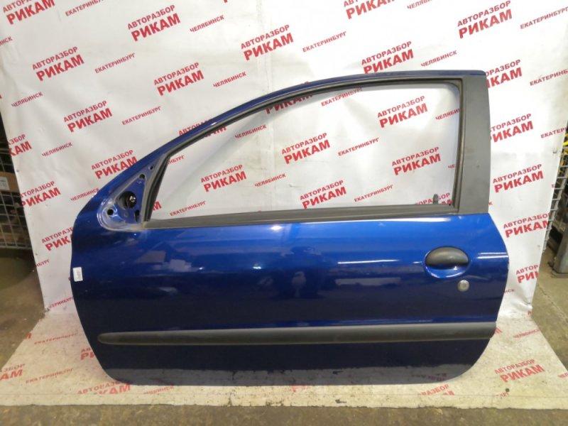 Дверь Peugeot 206 2A/C NFU 2003 передняя левая