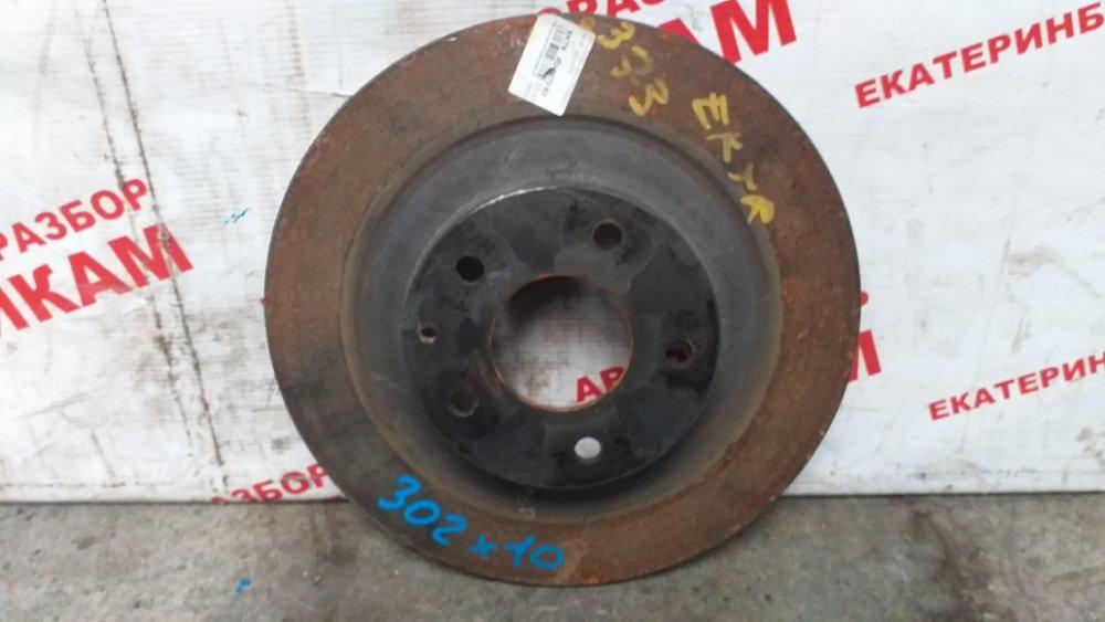Диск тормозной Mazda Cx-5 KF2 PE-VPS 2017 задний