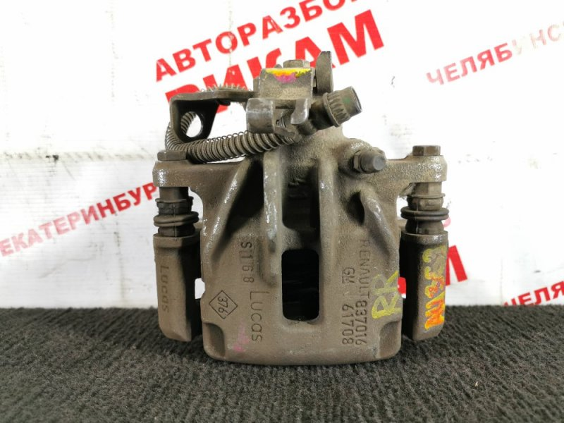 Суппорт тормозной Renault Trafic JL M9RM786 2014 задний правый