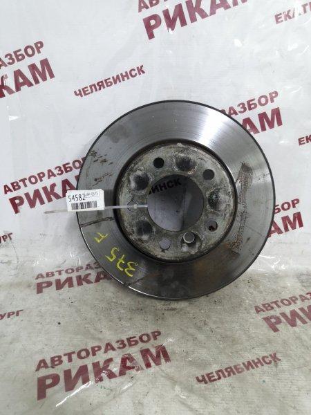 Диск тормозной Bmw 5-Series E60 M54B25 2004 передний
