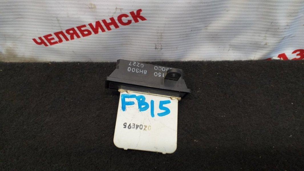 Резистор Nissan Sunny FB15 QG15DE