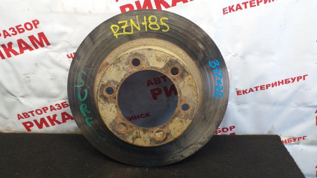 Диск тормозной Toyota Hilux Surf RZN185W передний