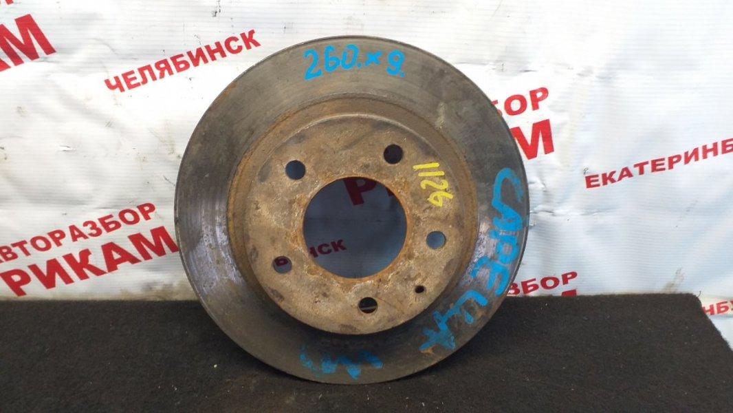 Диск тормозной Mazda Capella задний