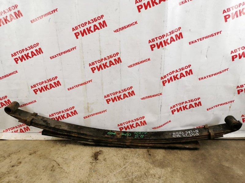 Рессора Nissan Atlas P4F23 задняя