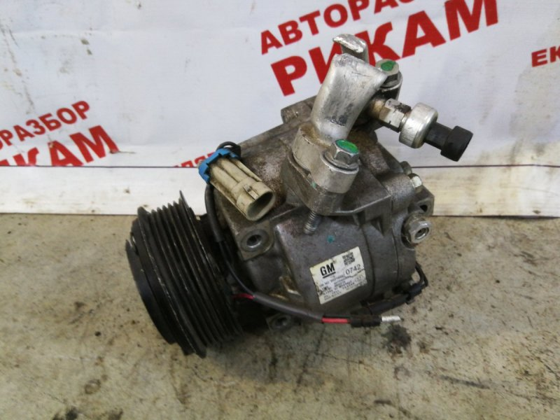 Компрессор кондиционера Opel Corsa D A14XER
