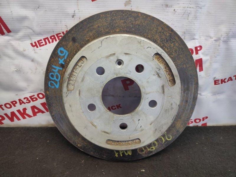 Диск тормозной Chery M11 DB SQR481FC 2012 задний