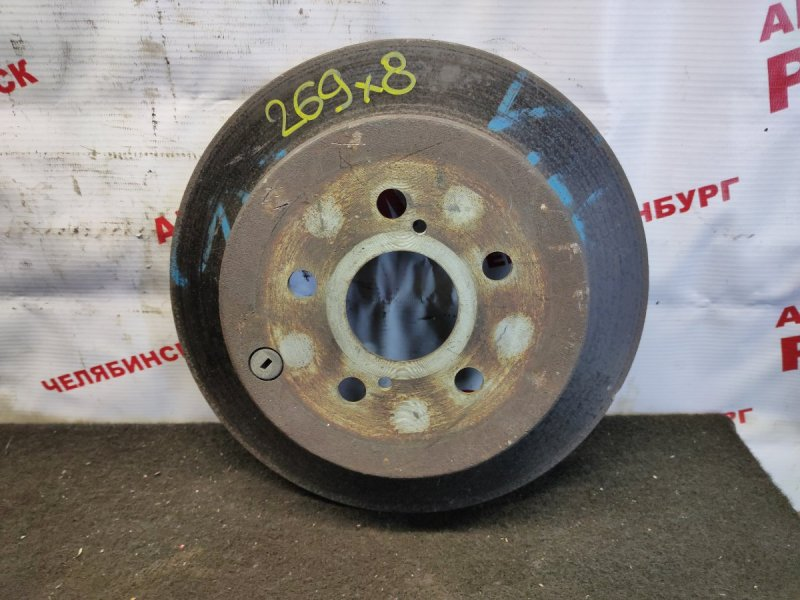 Диск тормозной Toyota Will Vs ZZE127 1ZZ-FE задний