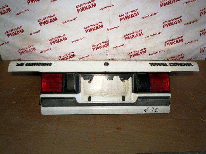Крышка багажника Toyota Corona AT170